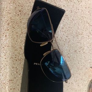 Oliver people's sunglasses w/ Prada case